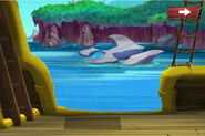 Mermaid Lagoon-Jake's Heroic Race