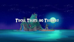 Tricks, Treats and Treasure!-titlecard