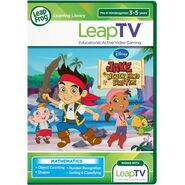 LeapTV™ Disney Jake and the Never Land Pirates Educational, Active Video Game