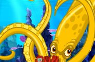 Golden squid-Jake And The Never Land Pirates Neverland Rescue Games