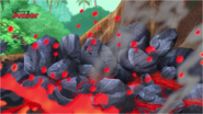 The lava was plugged up! - March of the Lave Monsters