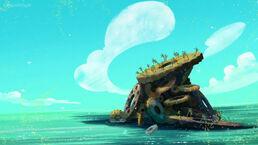Gear Island-Shark Attack