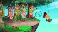 Peter with Jake &crew- Peter Pan returns