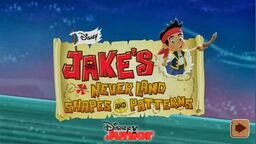 Jake's Never Land Shapes and Patterns01