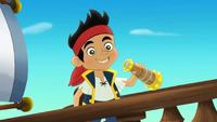 Jake aboard Bucky