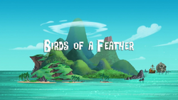 Birds of a Feather title card
