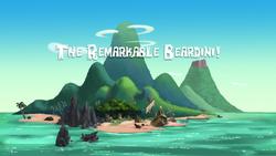 The Remarkable Beardini!-titlecard