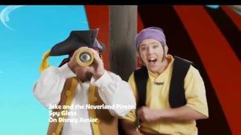 Jake and the Never Land Pirates 'Spy Glass' Music Video Disney Junior UK