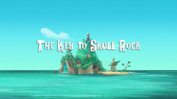 The Key to Skull Rock titlecard