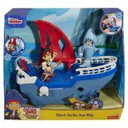 Fisher Price Jake & The Neverland Pirates Shark Ship