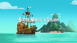 Bucky makes a splash titlecard