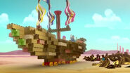 Golden SailWagon- The Golden Pirate Pyramid