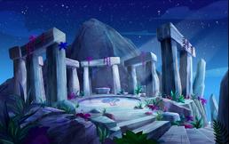 Top mount destiny courtyard