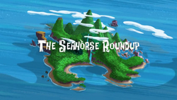 The Seahorse Roundup title card
