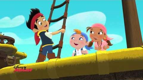 Jake and the Never Land Pirates Goodbye Bucky Song Disney Junior UK