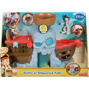 Fisher-Price Jake and The Never Land Pirates - Jake's Battle at Shipwreck Falls02
