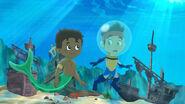 Jake&Finn-Look Out...Never-Sharks!