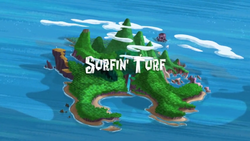 Surfin' Turf title card