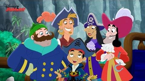 Jake and the Never Land Pirates Captains Unite Song Disney Junior UK