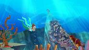 Marina&Coralie-sleeping mermaid02