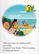 Jake and the Never Land Pirates Board Book-Adventure Ahoy!04