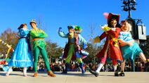 PeterWendyHook&Smee-Paris-Pirates-Princesses-Festival