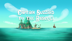 Captain Buzzard to the Rescue! title card