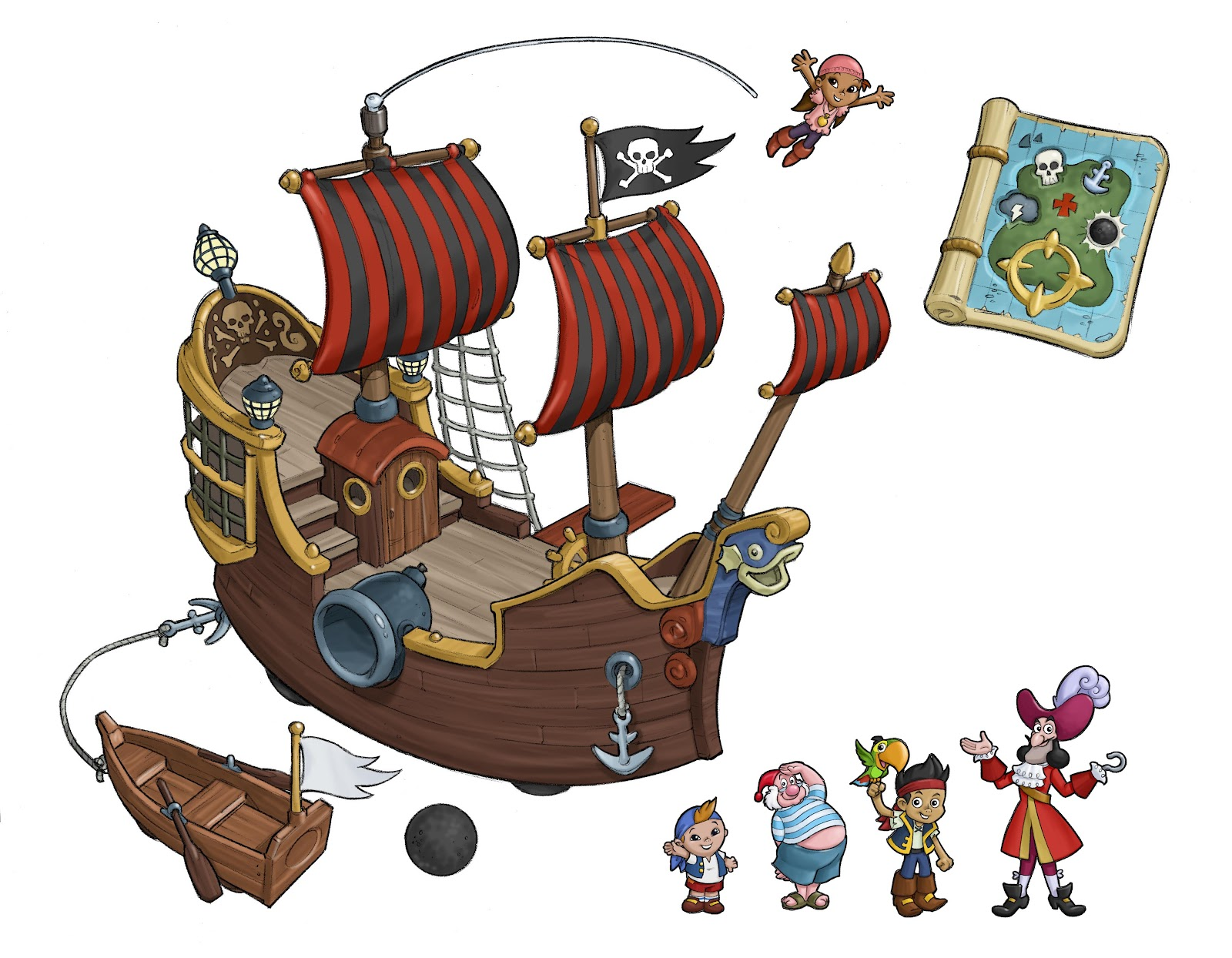 image fp brands jake pirate ship concept art jpg jake and the