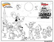 Battle for the Book-coloring pages