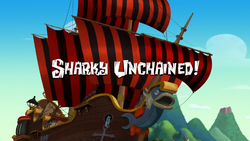 Sharky Unchained-titlecard