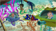 Undersea Pirate Team and Fin the Mer-Boy - Attack of the Pirate Piranhas