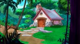 Three Bear's House-Little Red Riding Hook01