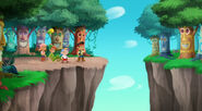 Peter-pan-returns Tiki Forest