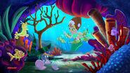 Coralie &Clams-sleeping mermaid01