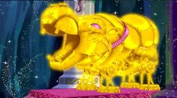 Queen Hippolita's Golden Hippo