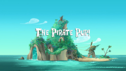 The Pirate Pup titlecard