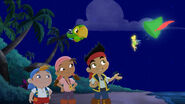 Jake&crew with Tinker Bell-Battle for the book