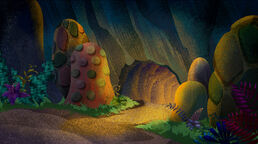 Cave of the Golden Twilight Treasure