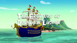 The Creature of Doubloon Lagoon title card