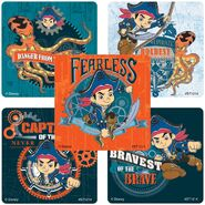 Captain Jake and the Never Land Pirates Stickers02