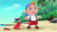 Cubby and Captain Hook Crab - Trouble on the high sneeze