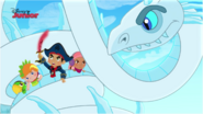 Snowconstricor with Jake and their mateys - Jake's Cold-Hearted Matey
