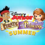 Disney Junior Pirate and Princess Summer