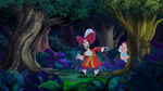 Captain Hook and Mr. Smee in the jungle