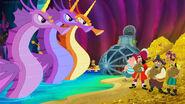 Hook&crew-Izzy and the Sea-Unicorn