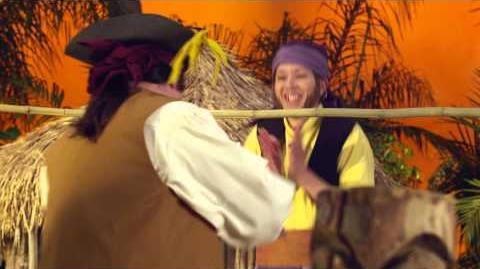 Jake and the Never Land Pirates Pirate Band Tiki Tree Limbo Disney Junior