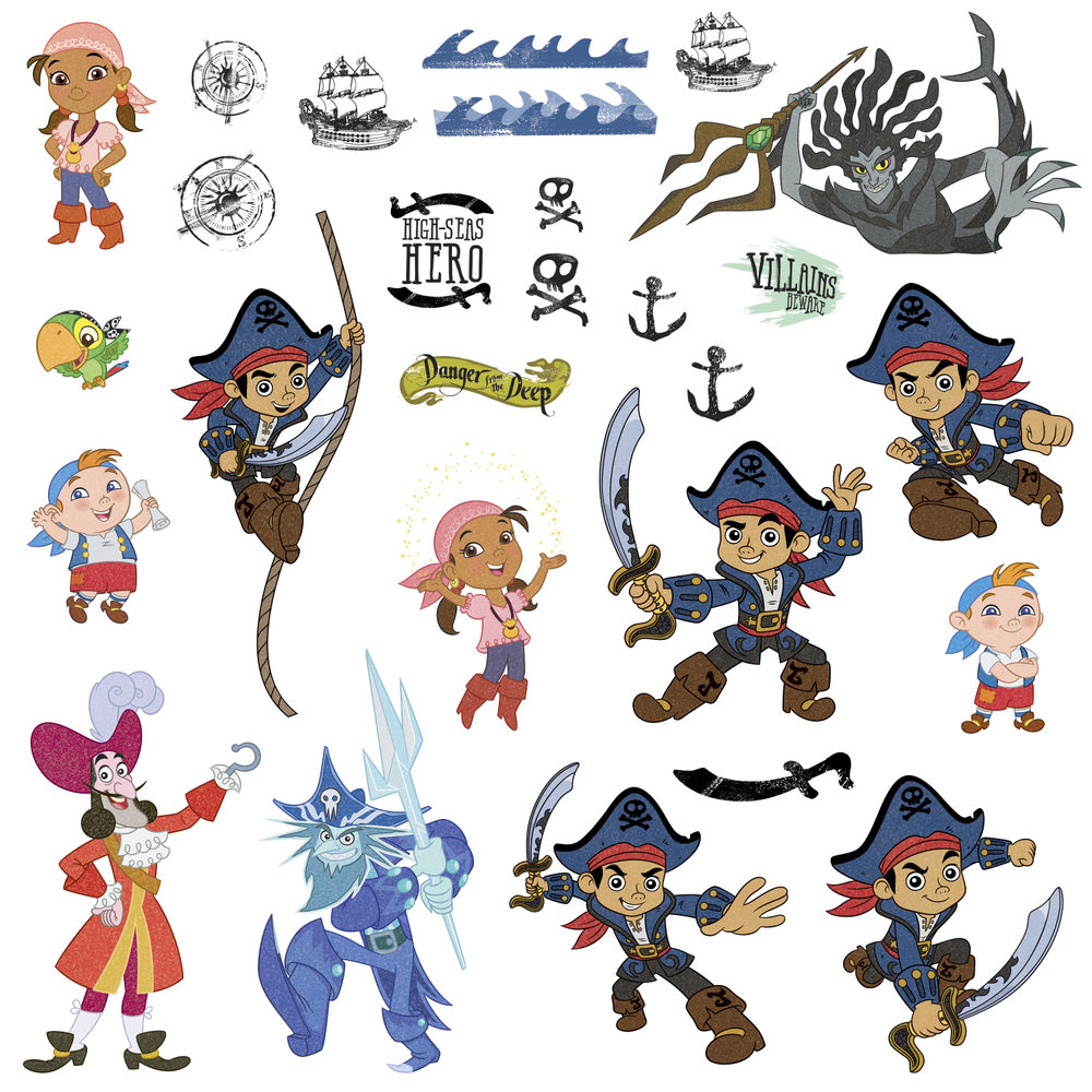 Image - Disney Jr. CAPTAIN JAKE and the NEVERLAND PIRATES wall ...