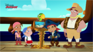 Pirate Team and Brewster the Beast Trapper - Attack of the Pirate Piranhas