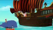 Hook&Mama Hook crew-Captain Hook's New Hobby01
