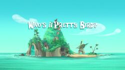 Who's a Pretty Bird titlecard